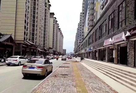 七星 万达广场旁 棠棣之华临街商铺 买一层得两层