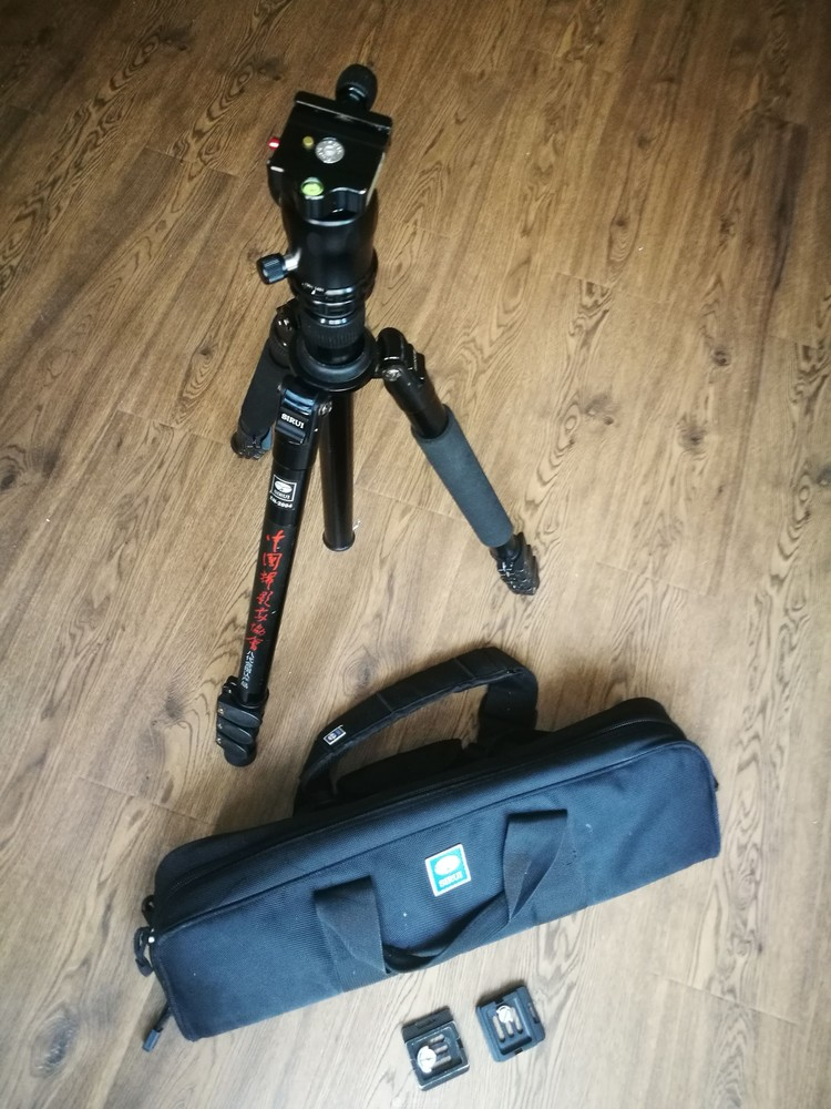 思锐EN2004+K20X 三脚架 单反相机独脚架 专业三角架