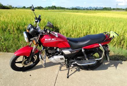 豪爵铃木钻豹 HJ125K-A 摩托车转让
