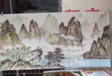 中国山水画专售 Chinese landscape paintings
