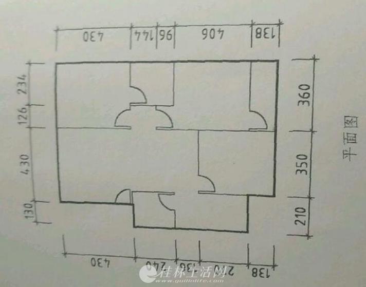 八里街学校旁 盛源小区 3房2厅 3楼47.6万
