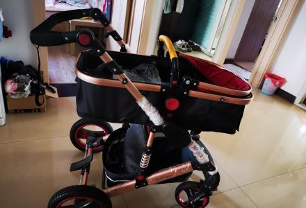95新婴儿推车 可坐可躺