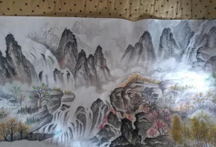 桂林市中国山水画售卖