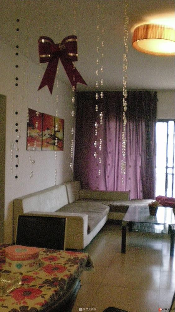 桂林市西岭御景(中隐路秀峰区政府对面)精装三房