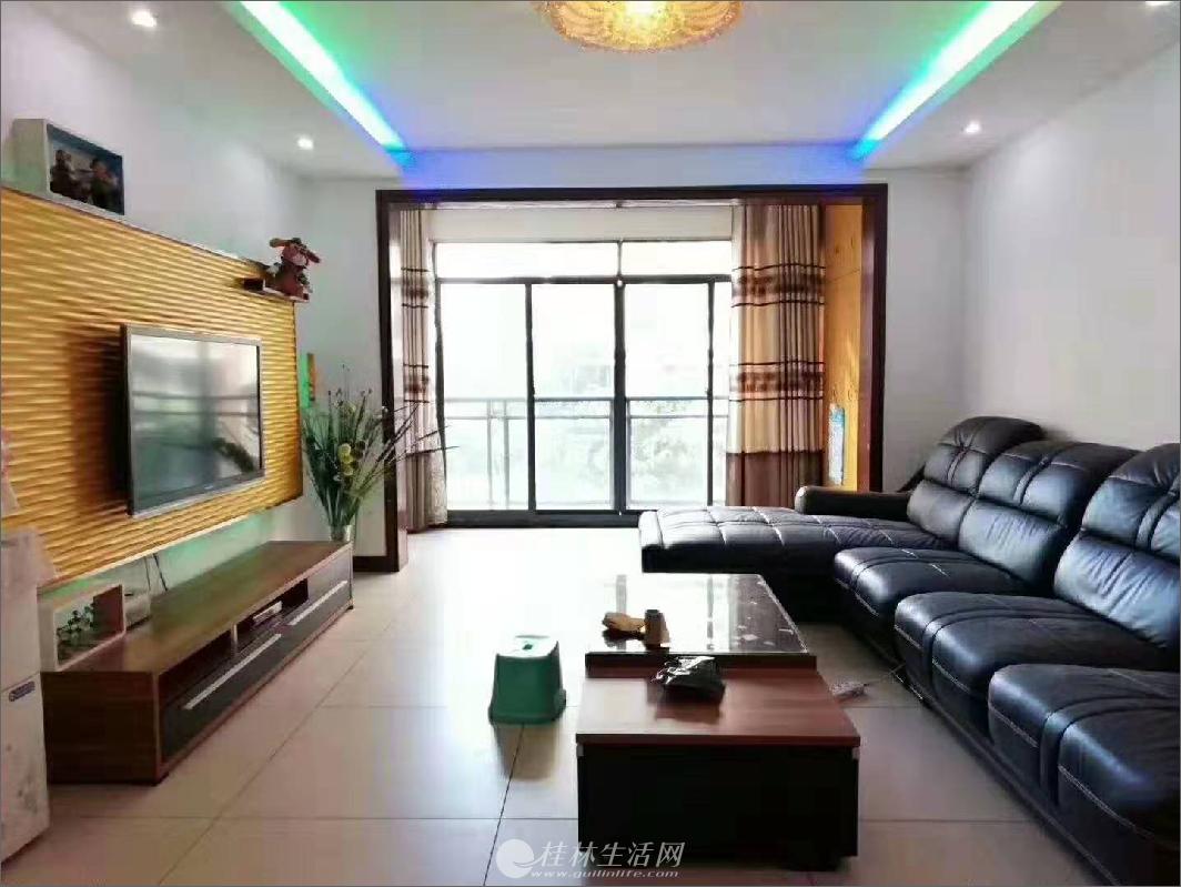 七星区 龙隐学 区 公园绿涛湾旁(新天地一期)精装3房