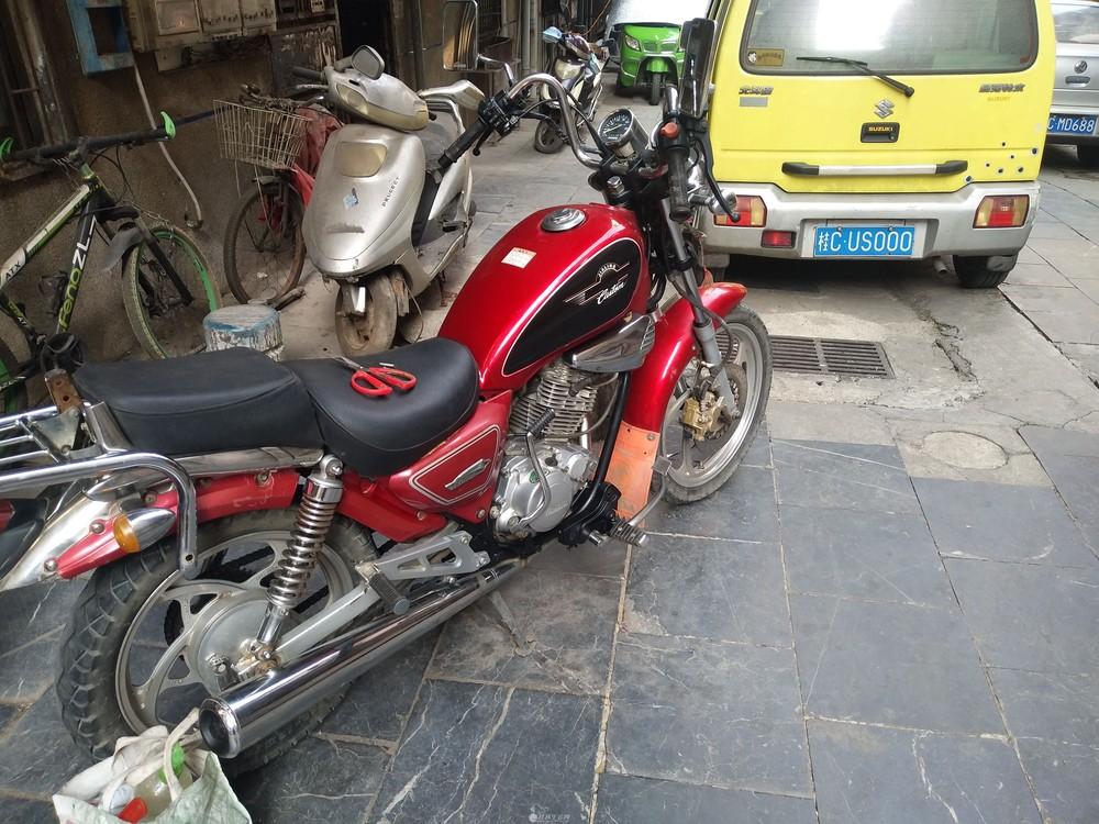 09年的太子建设雅马哈150cc