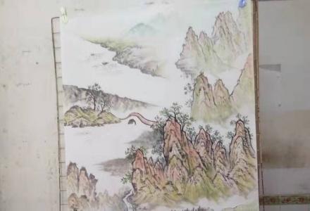 桂林市中国山水画职业培训班招生