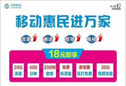 每月消费68元 就可以赠送200M光纤宽带