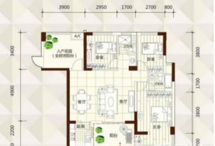 八里街好小区 玉柴博望园 电梯大3房 带入户花园 仅售73万