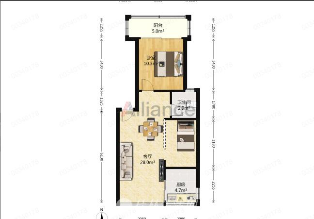 LI彰泰城东区两房,拎包入住,适合居住投资,真实在售
