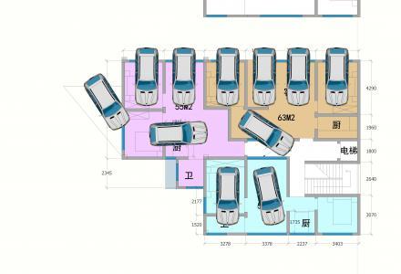 七星区创新大厦旁小产权电梯房 带车位,仅剩3席,抢到就是赚到