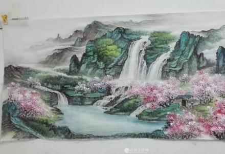 桂林 &lt中国山水画> 招学员---美术类职业培训