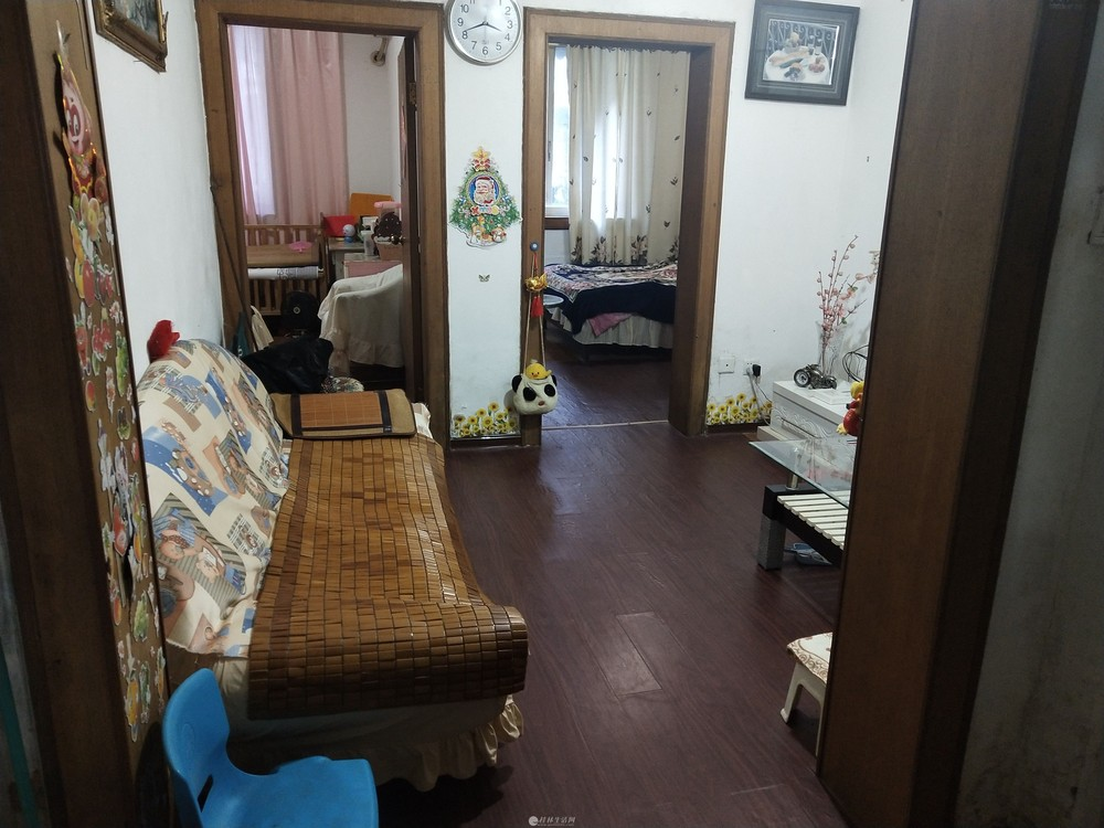 榕湖分校磨床厂宿舍两房一厅54平一楼19.5万单位物业好停车