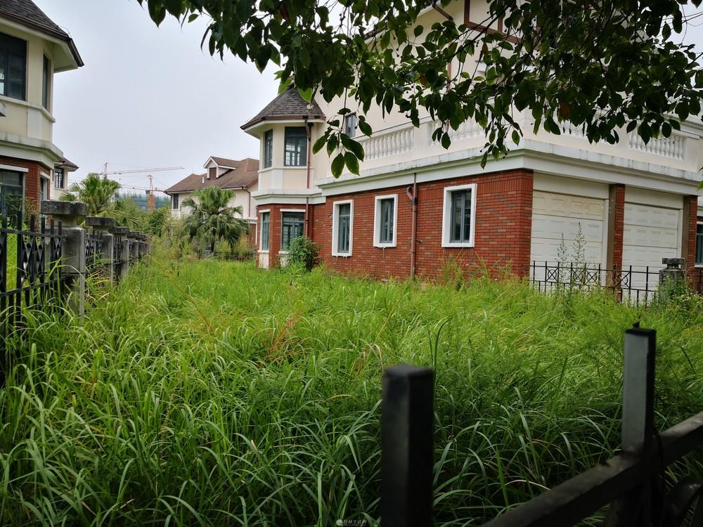 V三金庄园独栋别墅 超大花园 左右前后都有花园 占地面积817平 房东诚心出售!