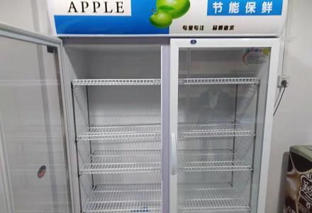 全新立式冰柜1500元转让