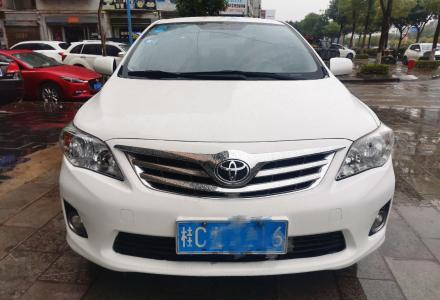 丰田 卡罗拉 2012款 炫装版 1.6L 自动GL