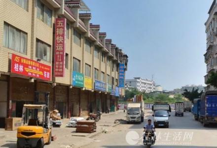 桂北商贸城1-4楼,一楼当街门面