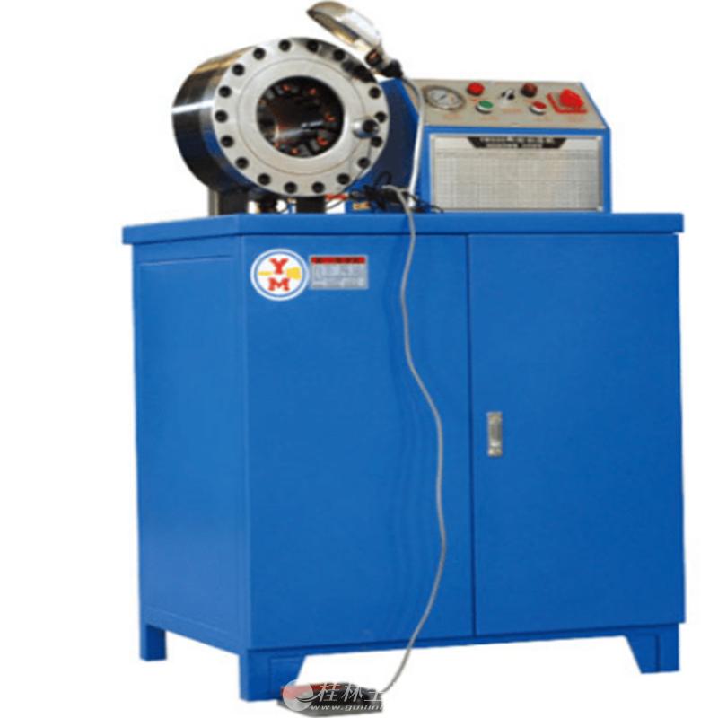 百瑞达6 - 51大棚锁管机 自动扣压机 压管机 钢管缩管机