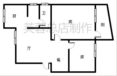 象山区安新北区2楼全新装修2房