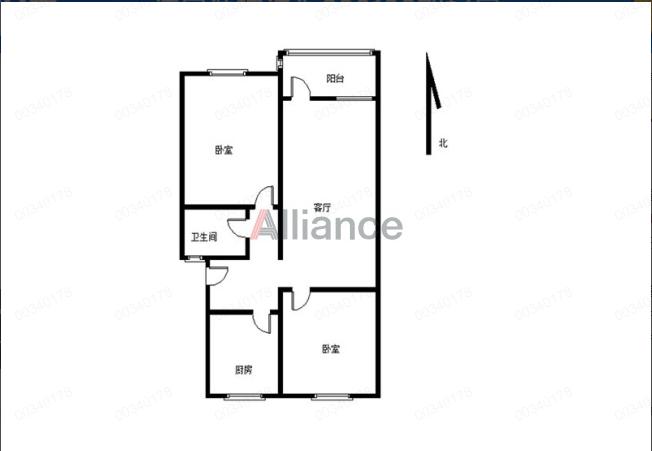LI同心路2房,户型方正,一楼,适合老人居住,27万