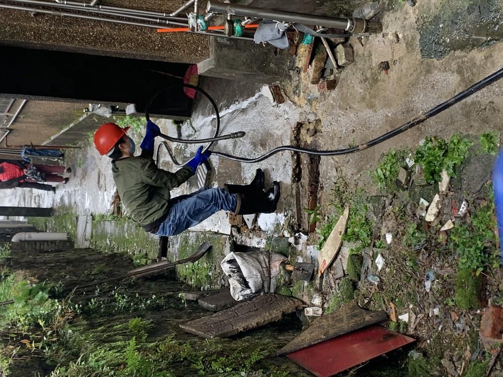 【专业】高压车疏通各种管道,排水管安装,改道,防水补漏等
