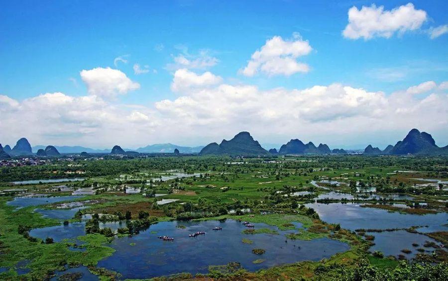 """实至名归!桂林会仙喀斯特湿地公园正式成为""""国家湿地公园"""""""