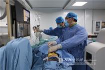 万博体育客户端医附院完成首例三叉神经半月节微球囊压迫术
