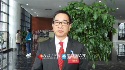 香港政协特邀嘉宾洪响堂接受采访