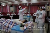 中医院举办护理实习生中西医护理技能竞赛