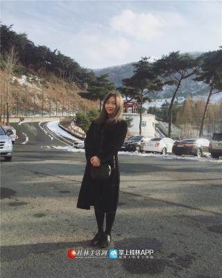 与许多爱旅游的女孩子一样,闲暇时间,白杨也会周游列国,出去看看外面的世界。
