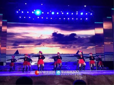 水兵舞-- 逛花园,演出单位- -康乐水兵舞