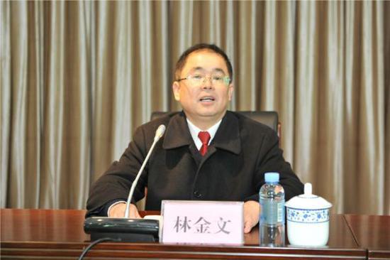 林金文出任广西壮族自治区司法厅厅长、党委书记