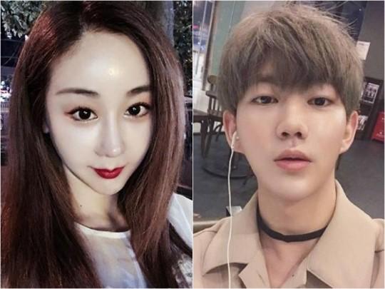 韩素媛与中国男友