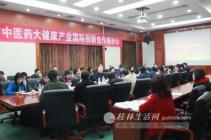 广西中医药健康产业国际创新合作座谈会在桂林南药召开
