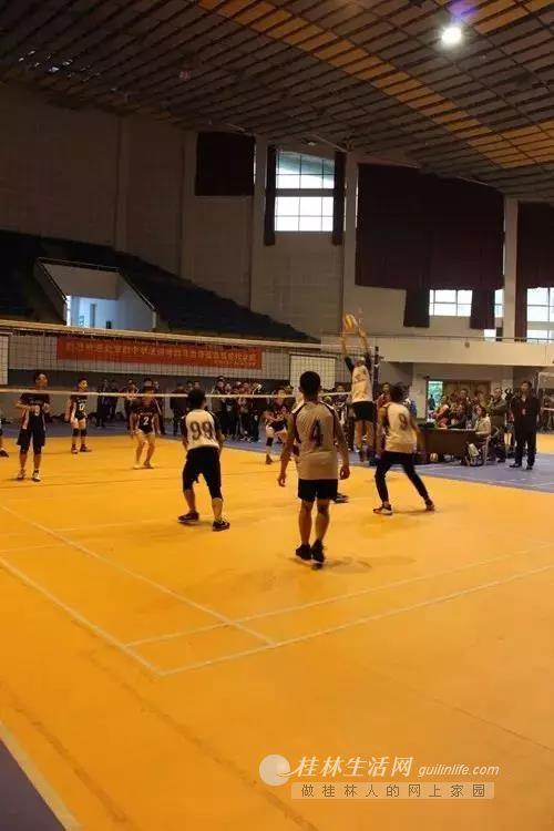桂林市各中小学球场上的汗水与喜悦