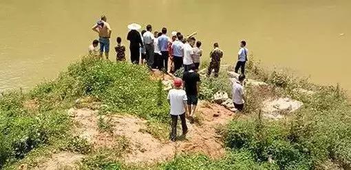 溺水事故现场