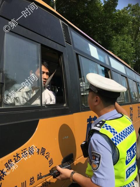 桂林市今起严查机动车乱鸣笛行为  首日有21名司机领到百元罚单