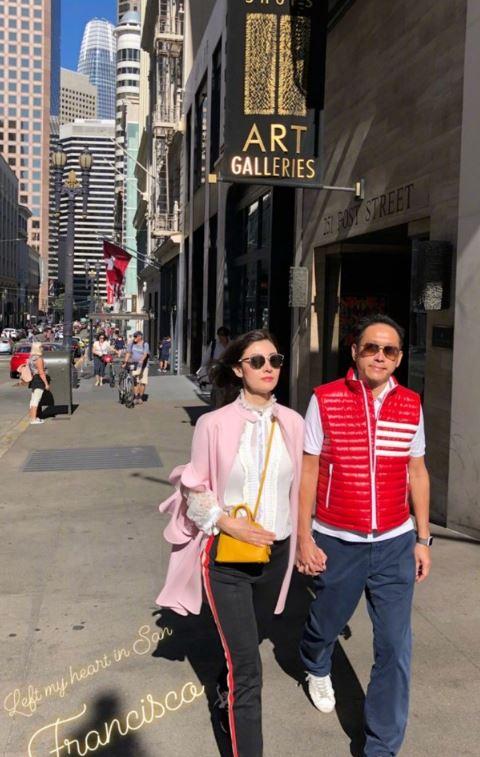 李嘉欣(Michele)与老公许晋亨