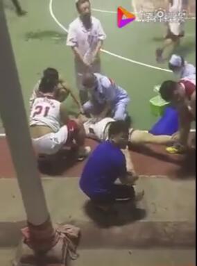 福建一小伙打篮球比赛猝死 年仅26岁