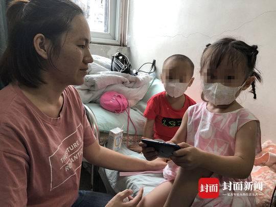 妈妈陈兰琴说,30万的医疗费对他们家而言,无异于天文数字。