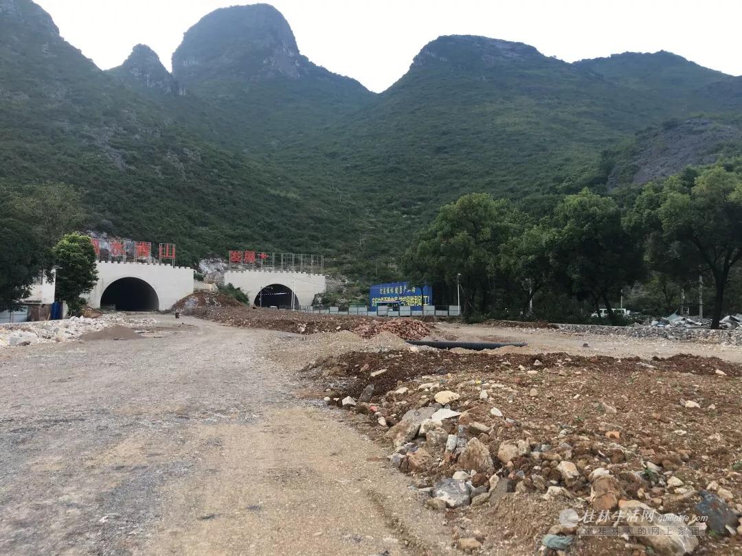 中隐路至西二环路道路工程(秀峰段)预计今年国庆节完工