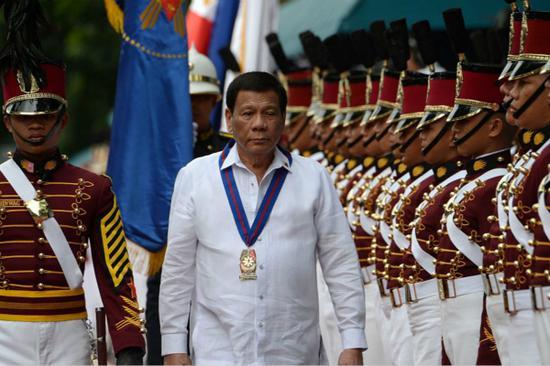 菲律宾总统杜特尔特(图:视觉中国)