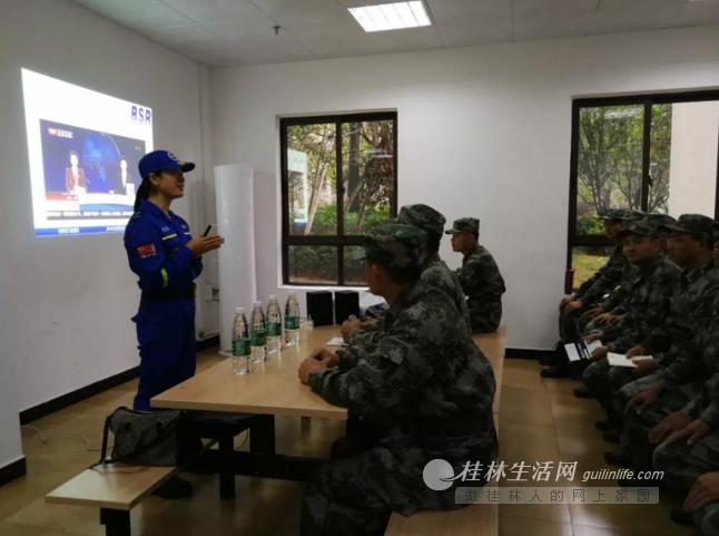 兴进物业携手蓝天救援队增心肺复苏课程