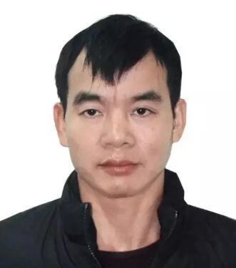 犯罪嫌疑人覃志钢。(图:广东陆丰市公安局微信公众号)