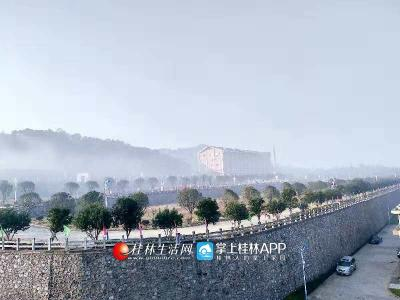全城云雾漫绝,仿佛蓬莱仙岛(图片:全州盘摄)
