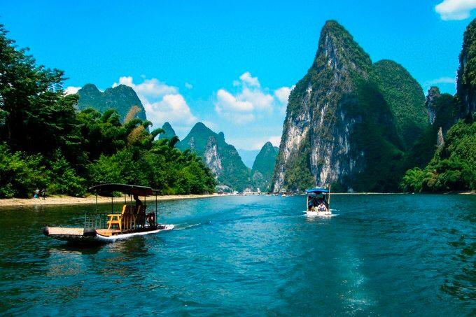 颜值无双 坐动车去这里,可以看 中国最美倒影图片