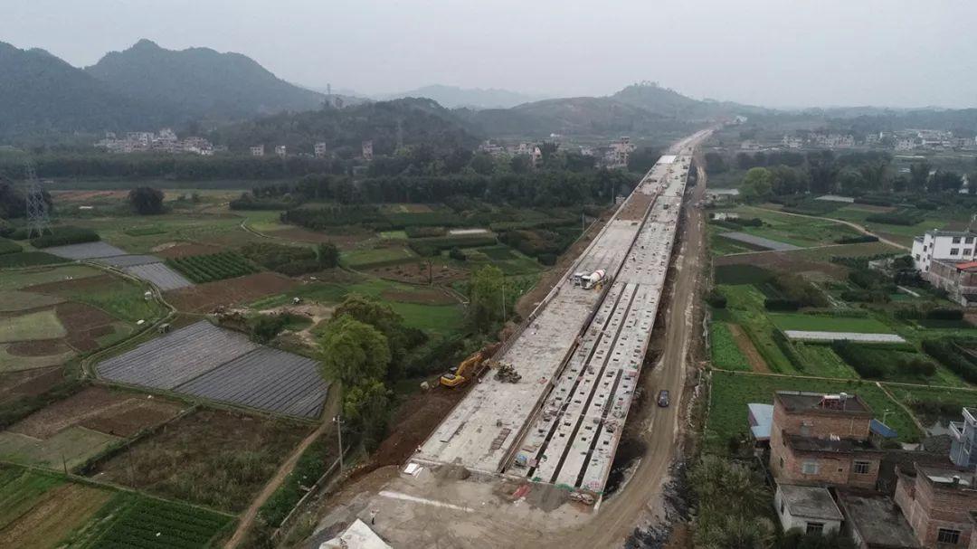 复工一周年,桂林这条高速即将建成
