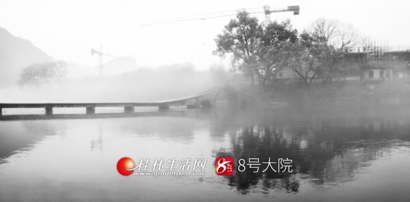 犹抱琵琶半遮面,这样的桂林好美,好娇羞,来桂林,和春天谈一场恋爱吧!天青色等烟雨而我在等你!(图/善者 摄)