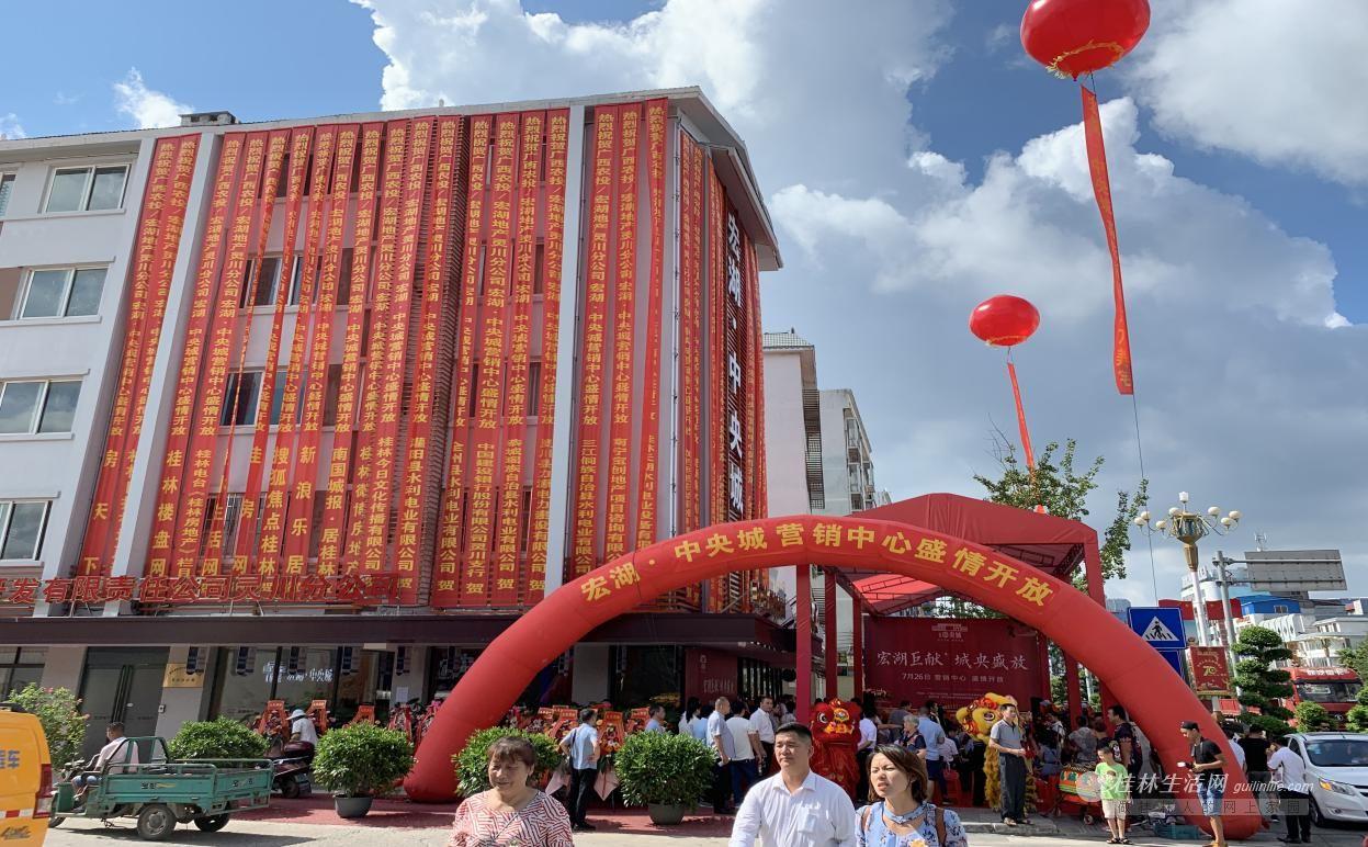 宏湖巨献,城央盛放 ——宏湖中央城营销中心盛大开放
