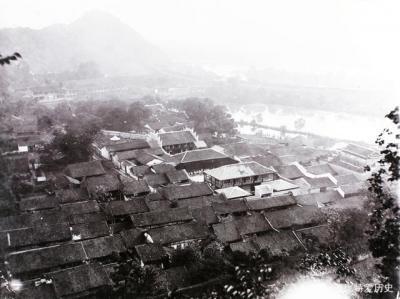 清末民初的桂林,八角塘一带。